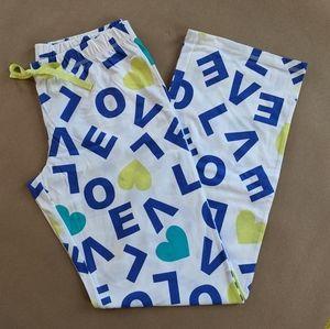 SO Love Pajama Bottoms NWOT